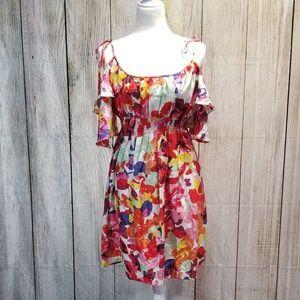 Muse for Boston Proper Silk Floral Dress sz 12
